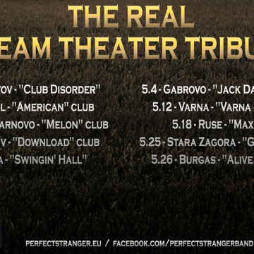 THE REAL DREAM THEATER TRIBUTE TOUR DATES 2018